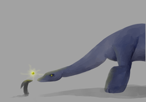 Dealing with Dinos by DragonarySilver
