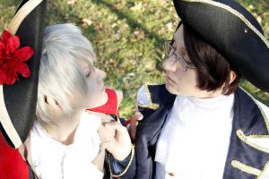 APH - 7years war Prussia and Austria by Sakiko-Seihikaru
