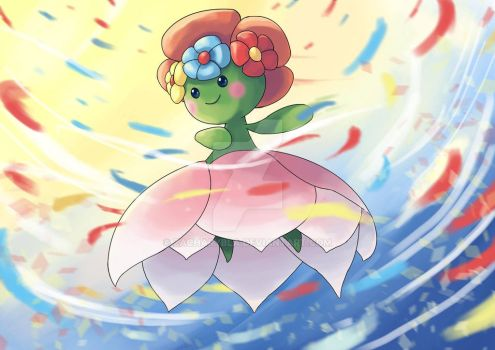 Mega Bellossom by zacharybla