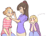 Make up with Pamela by akio2a