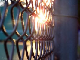 trust and chain link fences . by Emiry214