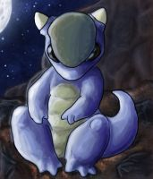 Baby Kangaskhan by CrazyRatty