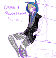 Poke-corr: Crime and punishment Gilan by DeathRuby