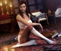 Lara Render 8 by Pitoxlon