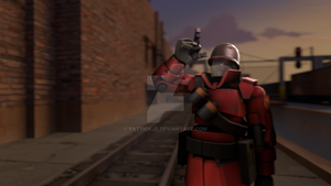SFM Poster: Soldier Bot by PatrickJr