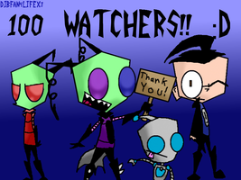 100TH WATCHER SPECIAL~! by DibFan4LifeX3