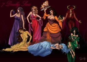 seven deadly sins by attitudechick
