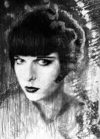 Louise Brooks by YannGOBART