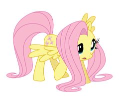 365 Day 226 Fluttershy by Korikian
