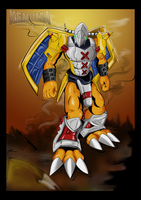 Wargreymon by DarkMu