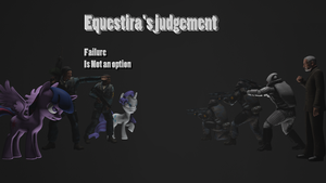 Equestria's Judgment Poster (2) by FD-Daylight