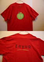 Apple shirt of agreement by DogerCraft