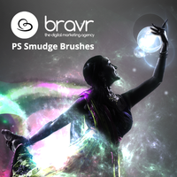 Bravr Free Photoshop Smudge Brushes by Bravr