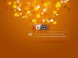 June 2010 Calendar Wallpapers by cheth