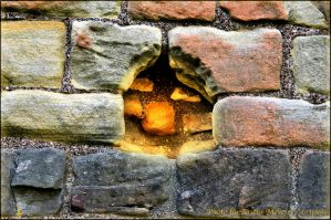 Look through the wall by brijome
