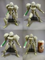 7' Samus Action Figure WIP 01 by red3183