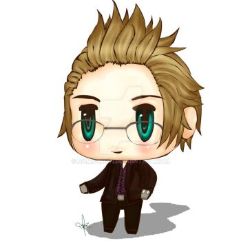 Ignis Stupeous Scientia chibi by Nome-chan