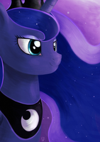 Princess Luna by FlutterstormReturns