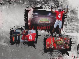 C.J. Barnett Wallpaper by KevinsGraphics