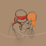 30 Day OTP Challenge : Day 5 Kissing by RedKawaiiPanda19