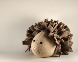Howard the Hedgehog Plushie by Saint-Angel
