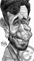 Mahmoud Ahmadinejad by RussCook