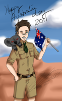 APH: Australia Day 2011 by ShiranuiArcher