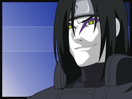 Orochimaru by Ironcid
