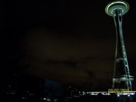 The needle at night 2 by MidNight-Shadow13