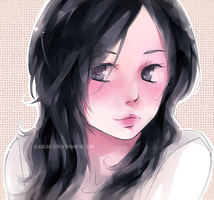 Black Hair by BLACKlbutterfly