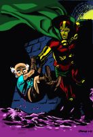 Mister Miracle by Chris Samnee by MilkManX