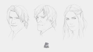 Lannisters Linework by KarmaLizzard