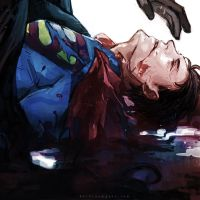 Death of Superman by Haining-art