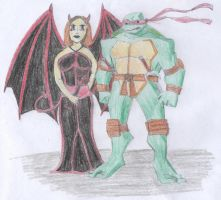 Persephone and Raph by raphs-girl