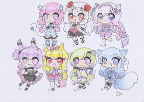 Chibi Adopts CLOSED by ShiToHoshisaki