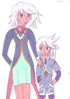 Genis and Raine for MMS12 by Phoneix-Faerie