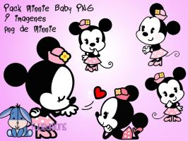 -Baby Minnie PNG by TuliEditions