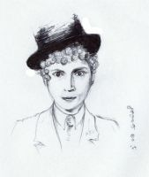Harpo Marx by thou-shalt-not