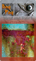 Metal and Rust I by Baq-Stock