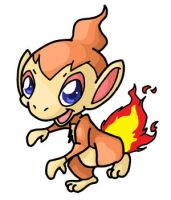 390. Chimchar by ChibiTigre