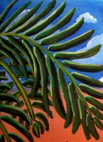 Desert Palm by Lily-Hith-Silme