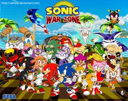Sonic War Zone by XAMOEL