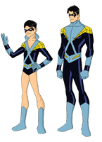 My Dc Reboot Earth 2 Dick Grayson by jsenior