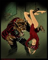 Attack of the Teenage Werewolf by BryanBaugh