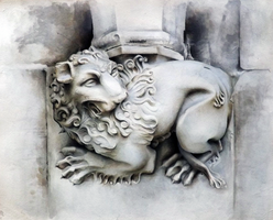 The Lion - Westminster Abbey by ElNido