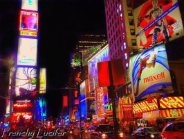 Times Square NYC by HLea33