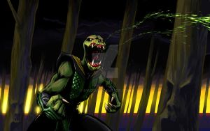 Reptile deadly accurate aim by ryuzo