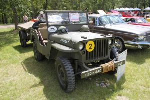 WWII Willys by KyleAndTheClassics