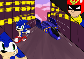 Race to the future! by nintenfan96