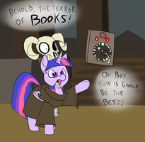 Twilight the Magician by Metal-Kitty